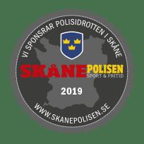 Skånepolisen dekal 2019